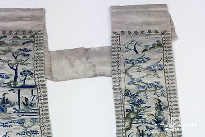 Le Frame Shoppe Blog Post | Antique Chinese Silks