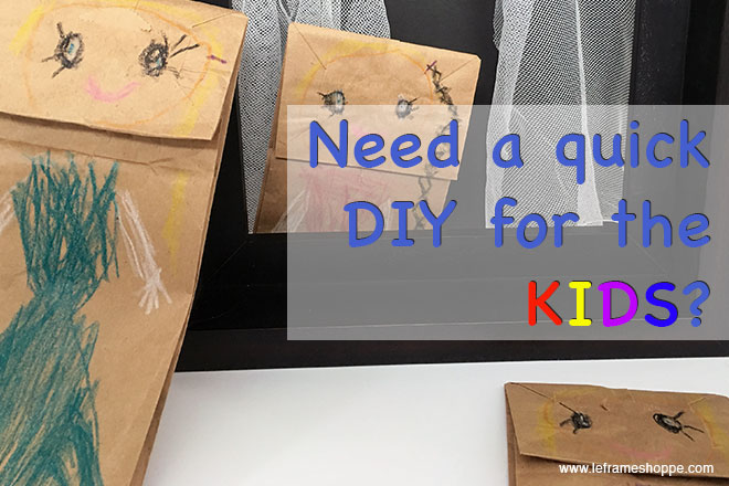 Le Frame Shoppe Blog | Quick DIY for hours of fun