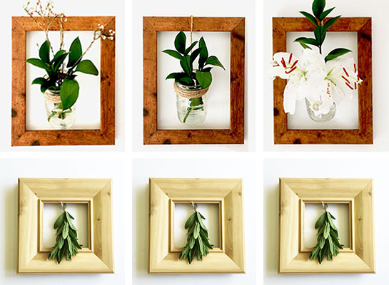 Empty Picture Frame Ideas Frame Collage Ideas Wood Photo Picture