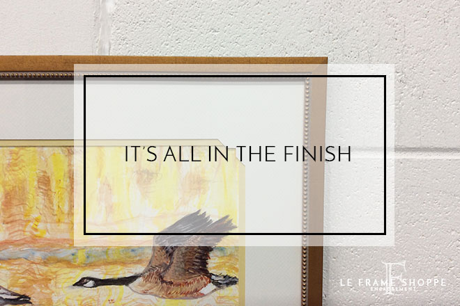 Le Frame Shoppe Blog | It's All in the Finish