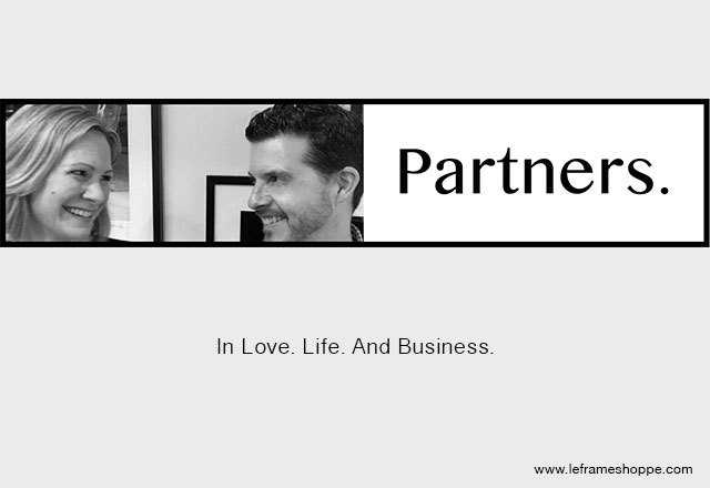 Le Frame Shoppe Blog | Partners in life & at work