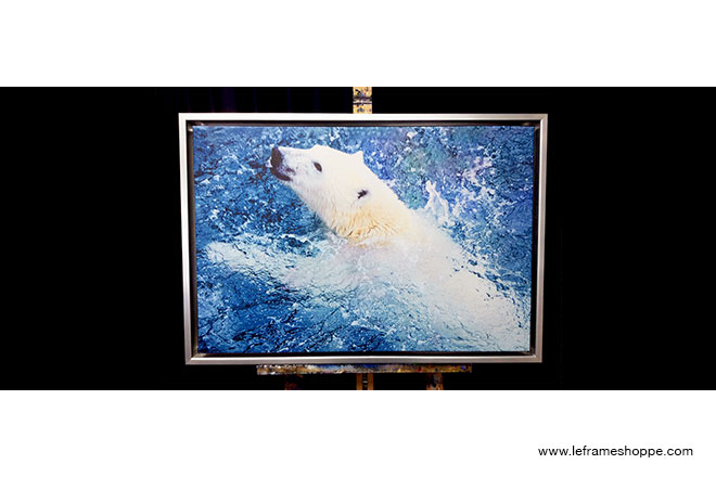 Le Frame Shoppe's Blog | Polar Bear Challenge