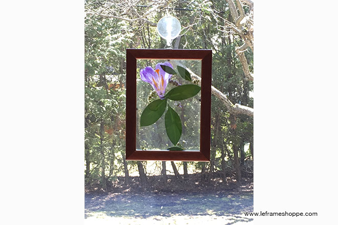 DIY Framed Sun Catchers | Le Frame Shoppe Blog