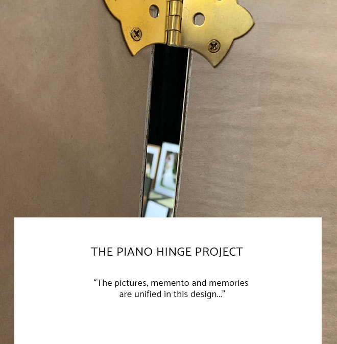 Le Frame Shoppe Blog | The Piano Hinge Project