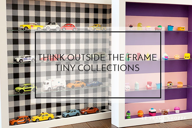Le Frame Shoppe Blog | Think Outside the Frame | Tiny Collections