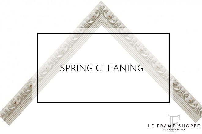 Le Frame Shoppe Blog | Spring cleaning