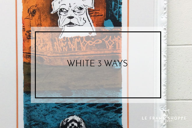 Le Frame Shoppe Blog | White 3 Ways