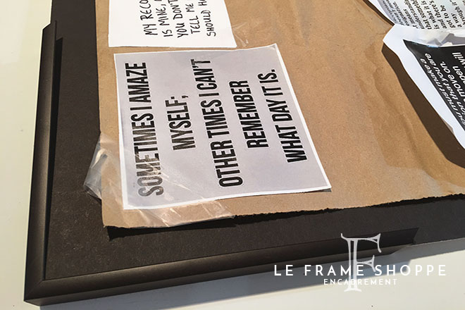 Le Frame Shoppe Blog | Is it worth framing?