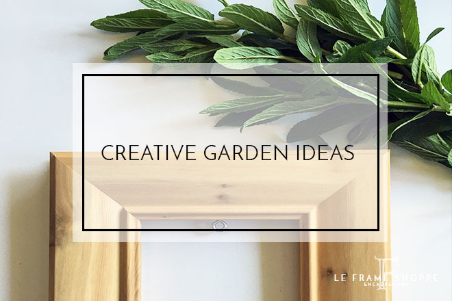 Le Frame Shoppe Blog | Creative Garden Spaces