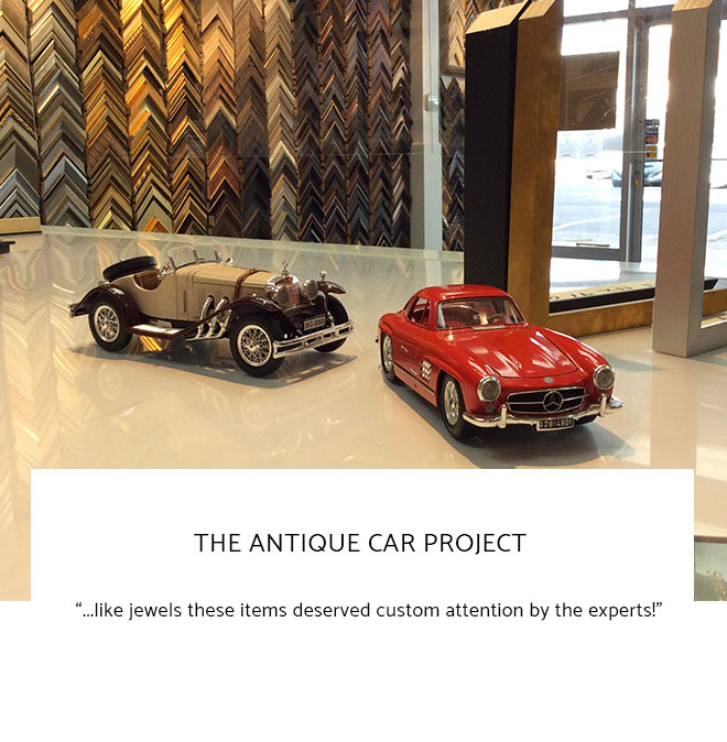 Le Frame Shoppe Blog | The Antique Car Project