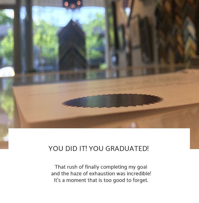 Le Frame Shoppe Blog | You Did It! You Graduated!