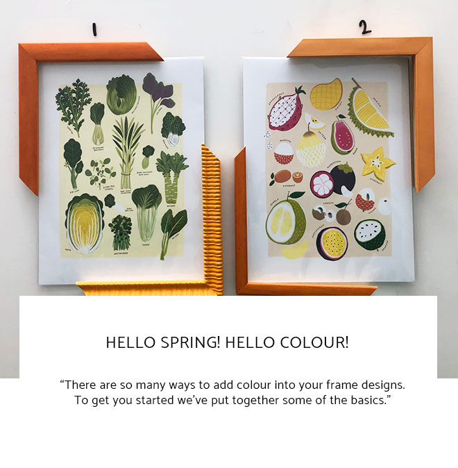 Le Frame Shoppe Blog | Hello Spring! Hello Colour!