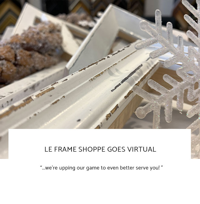 Le Frame Shoppe Blog | Le Frame Shoppe Goes Virtual