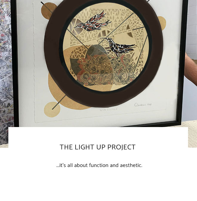 Le Frame Shoppe Blog | The Light Up Project