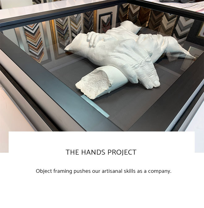 Le Frame Shoppe Blog | The Hands Project