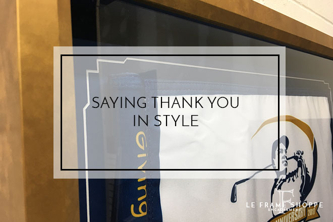 Le Frame Shoppe Blog | Saying Thank You in Style