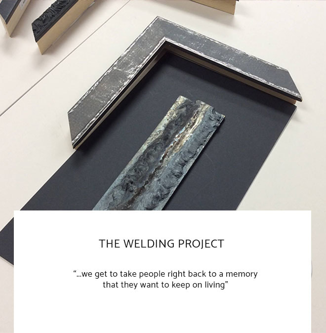 Le Frame Shoppe Blog | The Welding Project