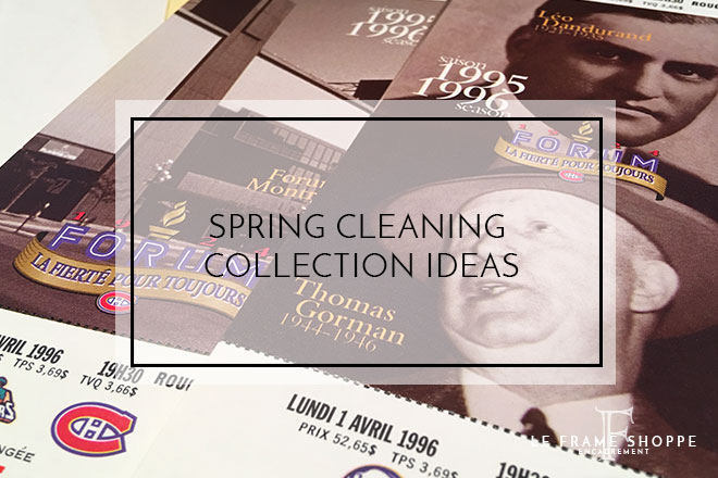 Le Frame Shoppe Blog | Spring Cleaning | Collection Ideas