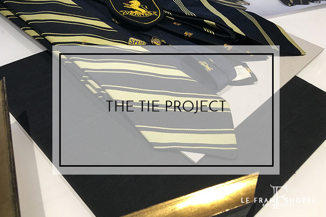 Le Frame Shoppe Blog | The Tie Project