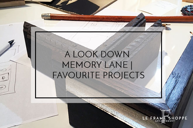 A LOOK DOWN MEMORY LANE | FAVOURITE PROJECTS