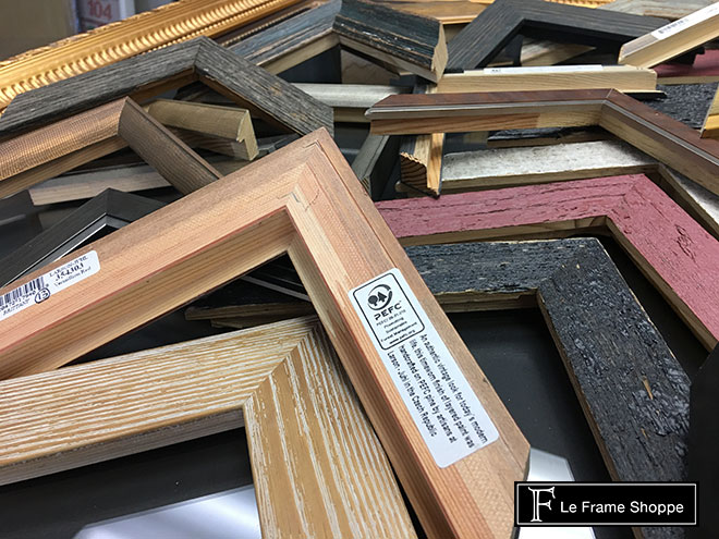 Le Frame Shoppe Blog | 2017 TREND : NATURAL WOOD | FARMHOUSE CHIC