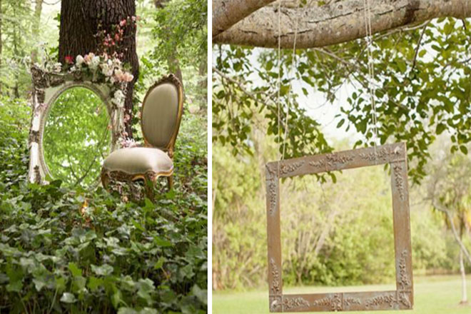 Le Frame Shoppe Blog | Frames for summer camp weddings