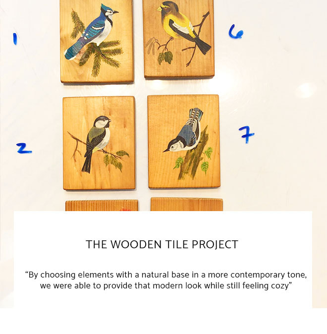 Le Frame Shoppe Blog | The Wooden Tile Project