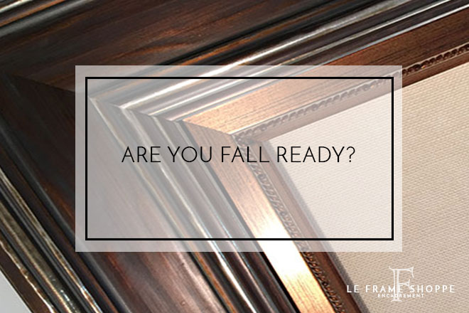 Le Frame Shoppe Blog | Are You Fall Ready?
