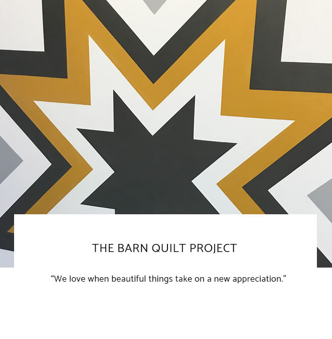 Le Frame Shoppe Blog | The Barn Quilt Project