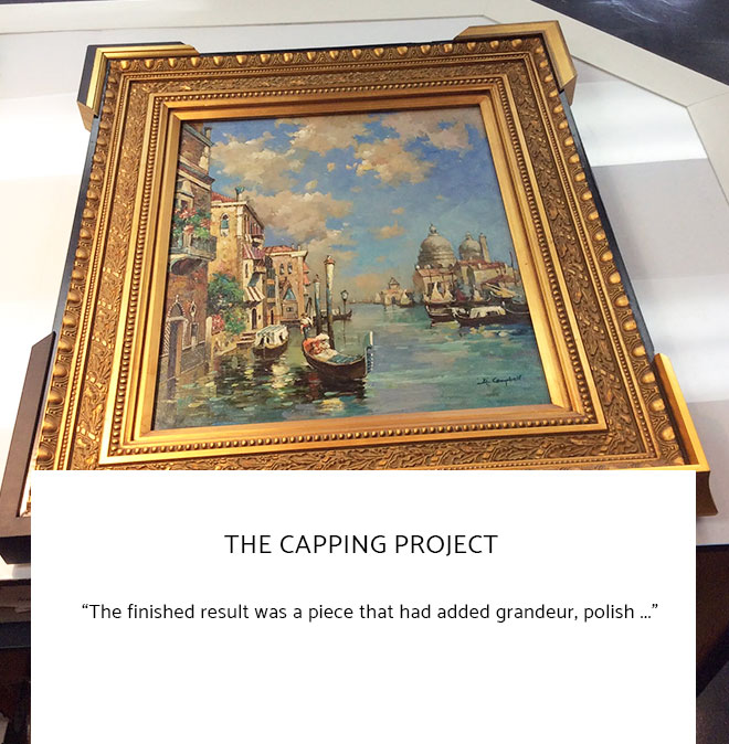 Le Frame Shoppe Blog | The Capping Project