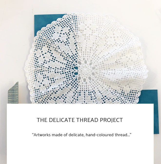 Le Frame Shoppe Blog | The Delicate Thread Project