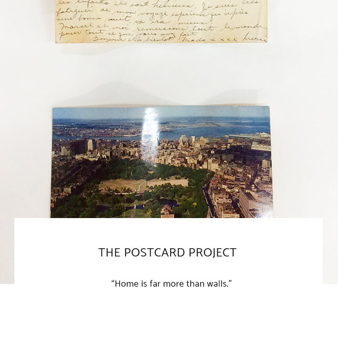 Le Frame Shoppe Blog | The Postcard Project