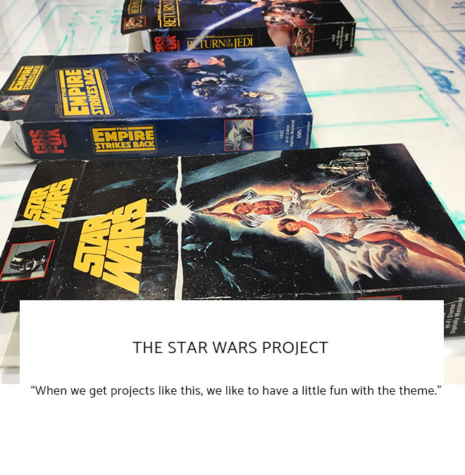 Le Frame Shoppe Blog | The Star Wars Project